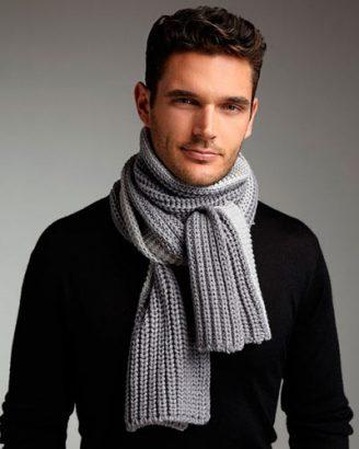 Как завязать мужской шарф разными способами