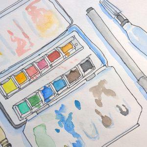 Watercolor fun