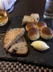 Fresh bread and house-made butter at Vermillion