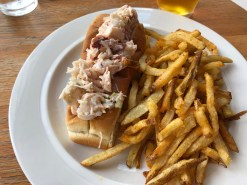 Lobster roll at Hank's Oyster Bar