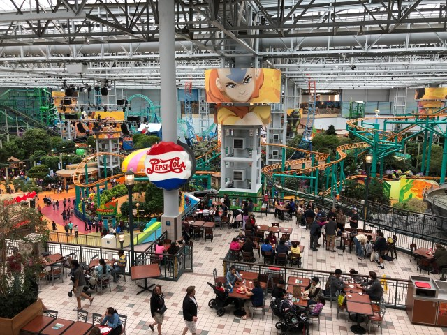 The Mall of America Amusement Park