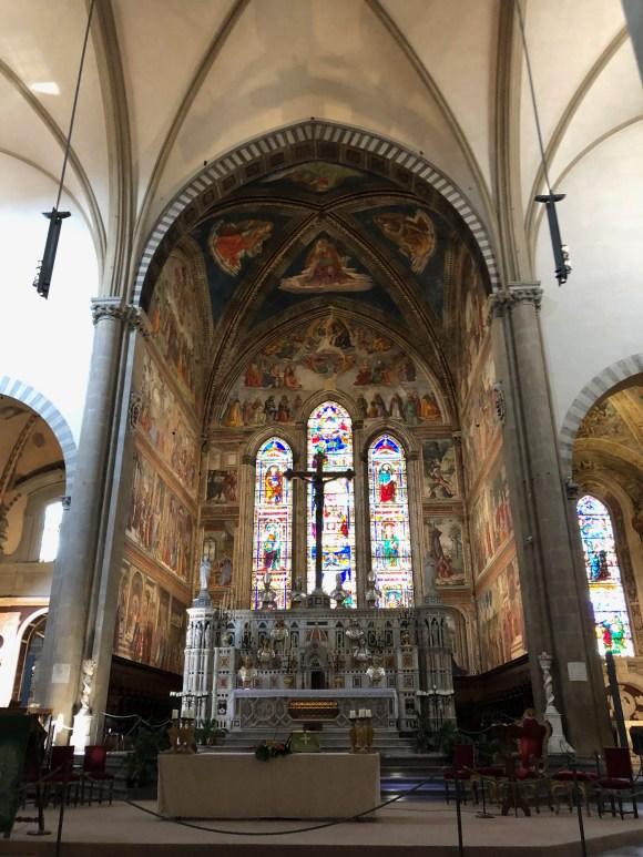 Three Days in Florence:  Santa Marai Novella
