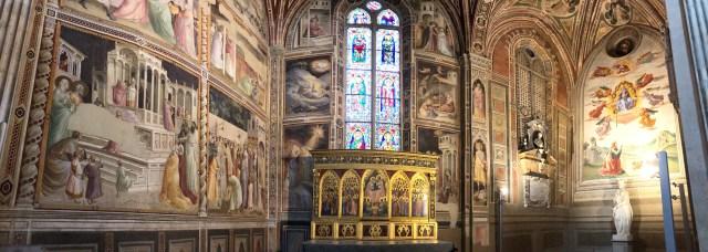 Panorama of part of Santa Croce