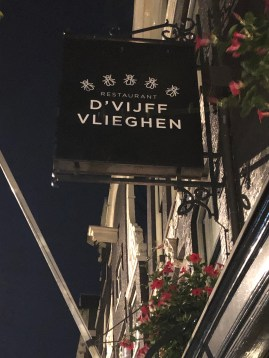 Where to Eat in Amsterdam: D'Vijff