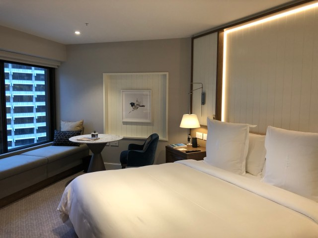 The Four Seasons Hotel Sydney: King room with city view