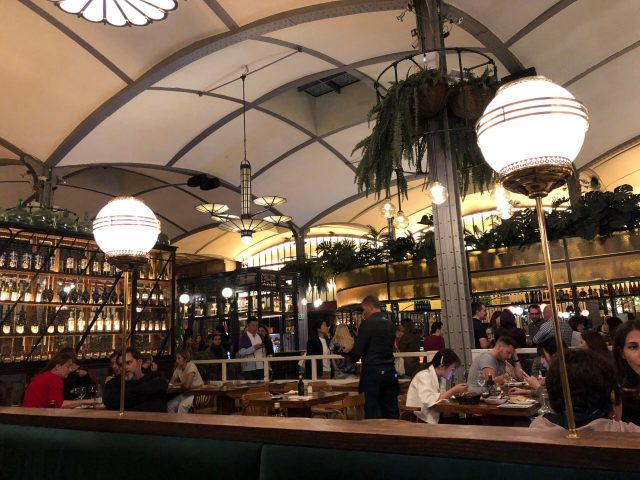 Where to Eat Tapas in Barcelona:  La Taperia at El Nacional