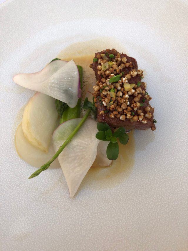 World Oyster's Top Restaurants 2019: Lamb neck with toasted buckwheat at Rijks