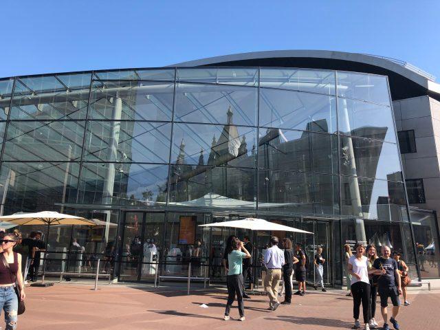 Exterior of the Van Gogh Museum in Amsterdam