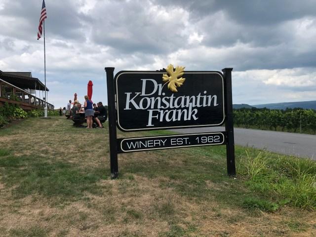 Finger Lakes Wine Tour:  Dr. Konstantin Frank