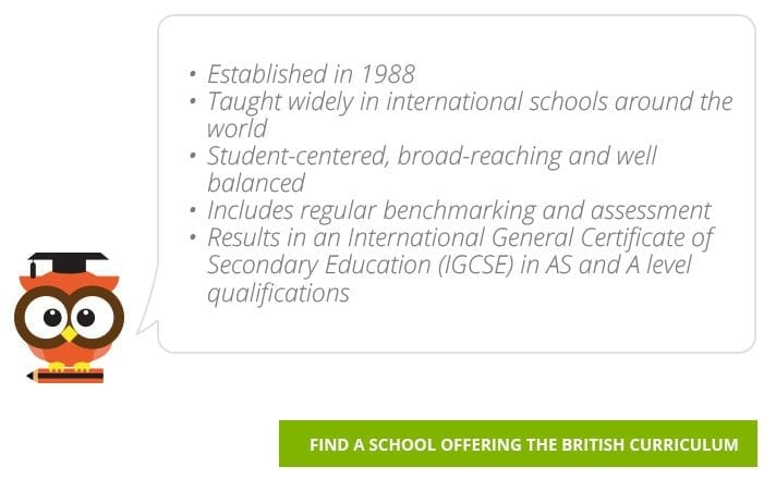 Find British Curriculum