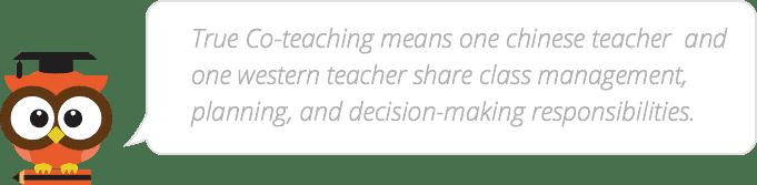 Co-Teaching Benefit