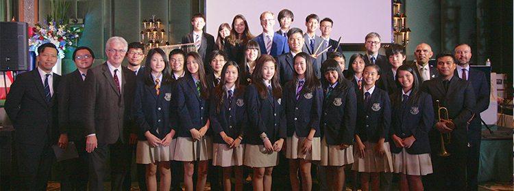 Harrow Bangkok Jazz Orchestra Sparkle at British Embassy Celebration