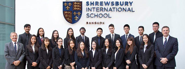 Shrewsbury Sweeps Exam Awards