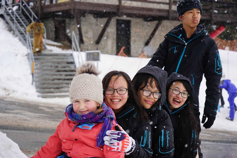 Winter Camp am Lyceum Alpinum Zuoz
