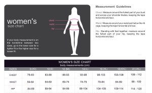 Womens Size Chart 2010.cdr