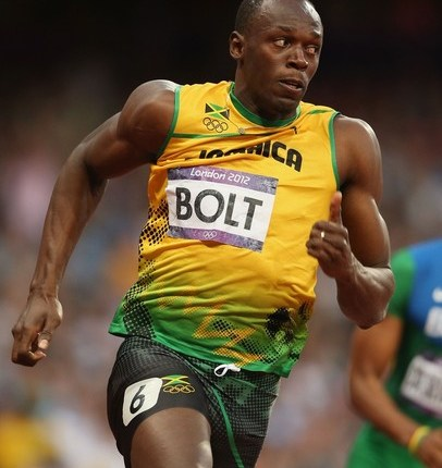 Bolt does it again! Wins Olympic sprint double