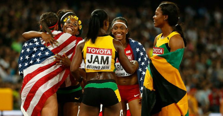 "Allyson Felix: ""We knew Jamaica had a really strong squad"""