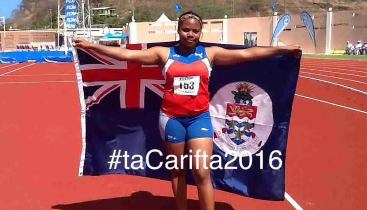 #CariftaGames 2016: Barnes Wins Gold For Cayman Islands