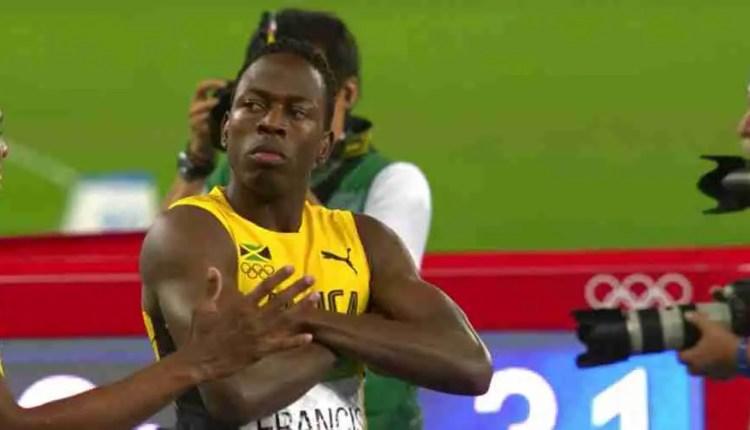 Javon Francis Splits 43.78; Jamaica Grabs 4×400 Silver At Rio 2016