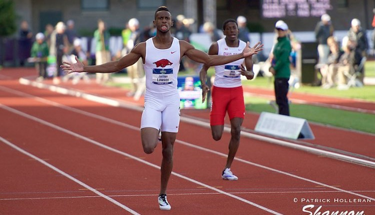Jarrion Lawson Joins Bolt All-Stars For Nitro Athletics Series