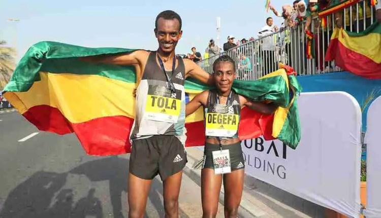 2017 Standard Chartered Dubai Marathon Results