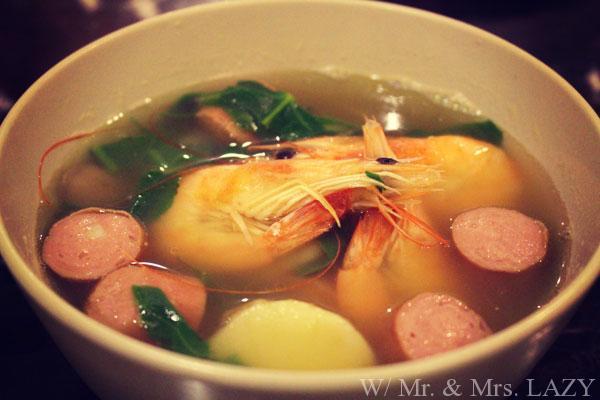 特性スープ