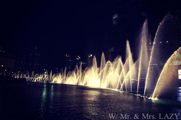 噴水ショー3