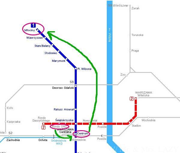 メトロ路線図予定