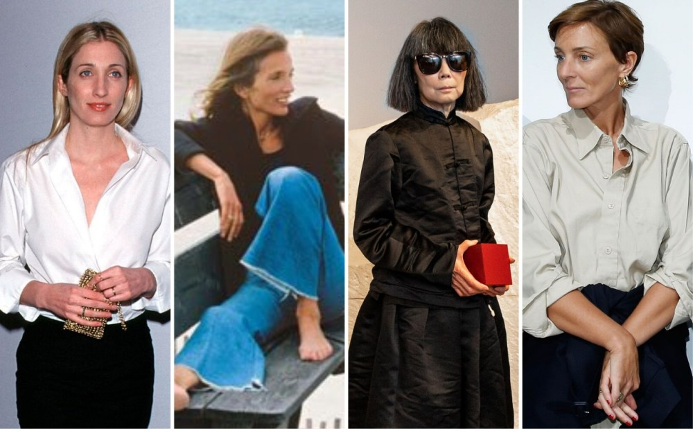 Carolyn Bessette-Kennedy, Lee Radziwill, Rei Kawakubo and Phoebe Philo