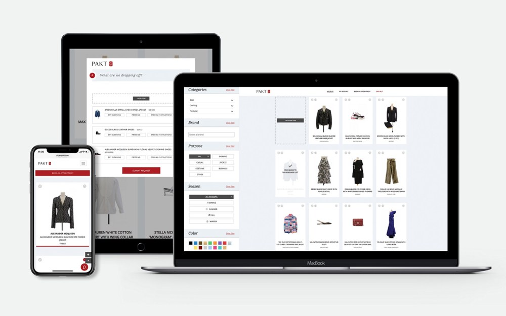 PAKT Smart Wardrobe™ is the modern solution for wardrobe management