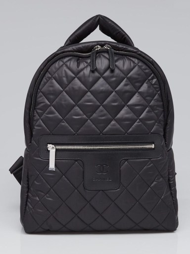 Chanel Cocoon backpack in black