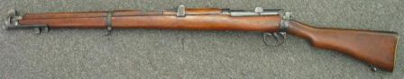 Same rifle, other side (volley sights also omitted). image by Alan Blank
