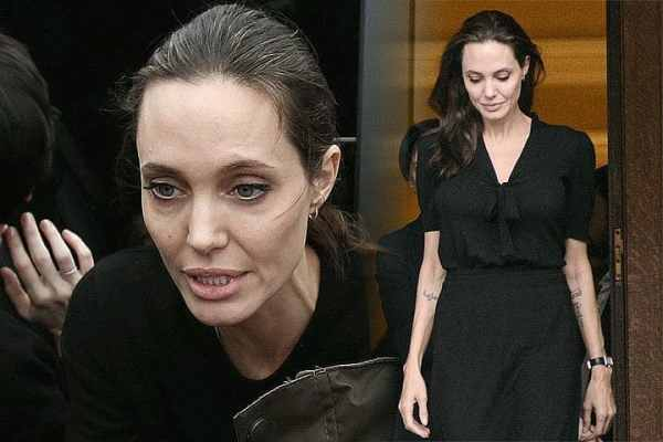 Фото изменившейся до неузнаваемости Анджелины Джоли ...
