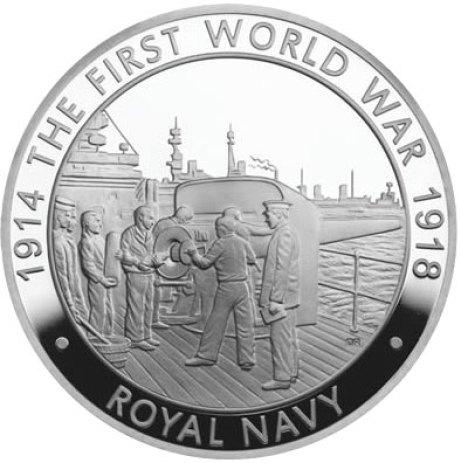 2014 Royal Navy Coin