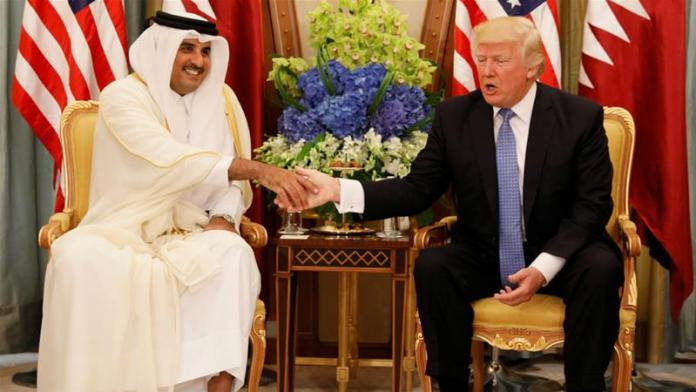 Qatari Emir Sheikh Tamim Bin Hamad Al-Thani has agreed to meet with Trump in