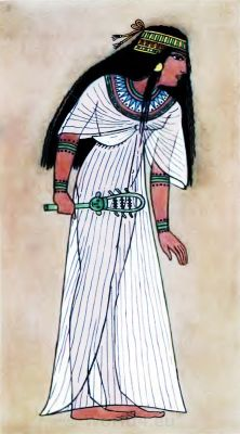 Ancient Egypt Queen Thuthu costume. How to wear ancient Egypt costumes.