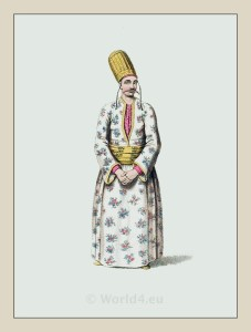 Page costume. Turkish Sultan. Dragoman dress. Historical Turkish costumes. Ottoman empire