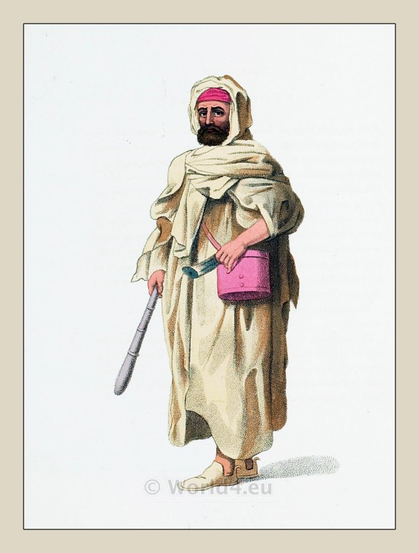 Costumes middle ages fashion history 14th 15th century fashion - A Bedouin Arab In The Vicinity Of Alexandria Ottoman