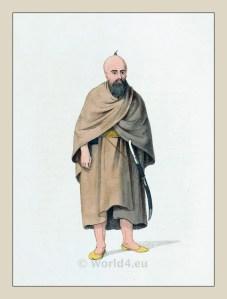 Dervish of Syria. Ottoman empire historical clothing