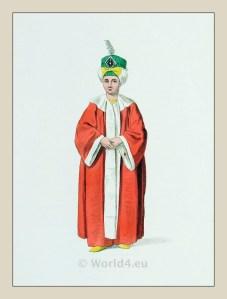 Ottoman prince, heir to the throne. Ottoman empire historical clothing