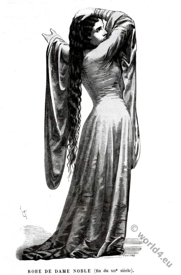 12th century, nobility, costume,middle ages, lady,medieval,fashion