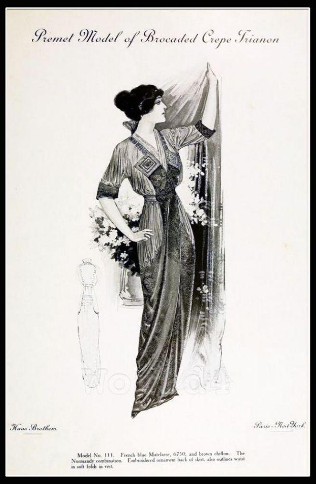 Premet, costume, Fin de siècle, fashion, haute couture, Couturier