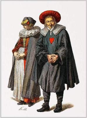 Jewish, Costumes, 17th, Tappest, Ephod, Baroque, fashion, history