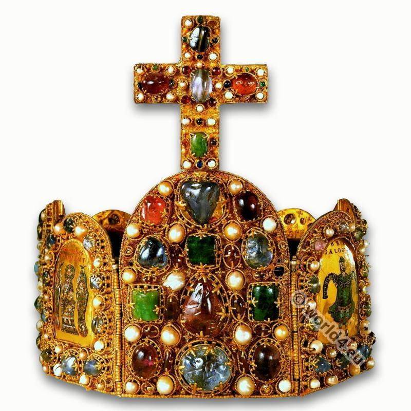 Crown, Charles the Great, Charlemagne, Karl der Große, Krone, Karolinger, Carolingian, Middle ages, medieval, king