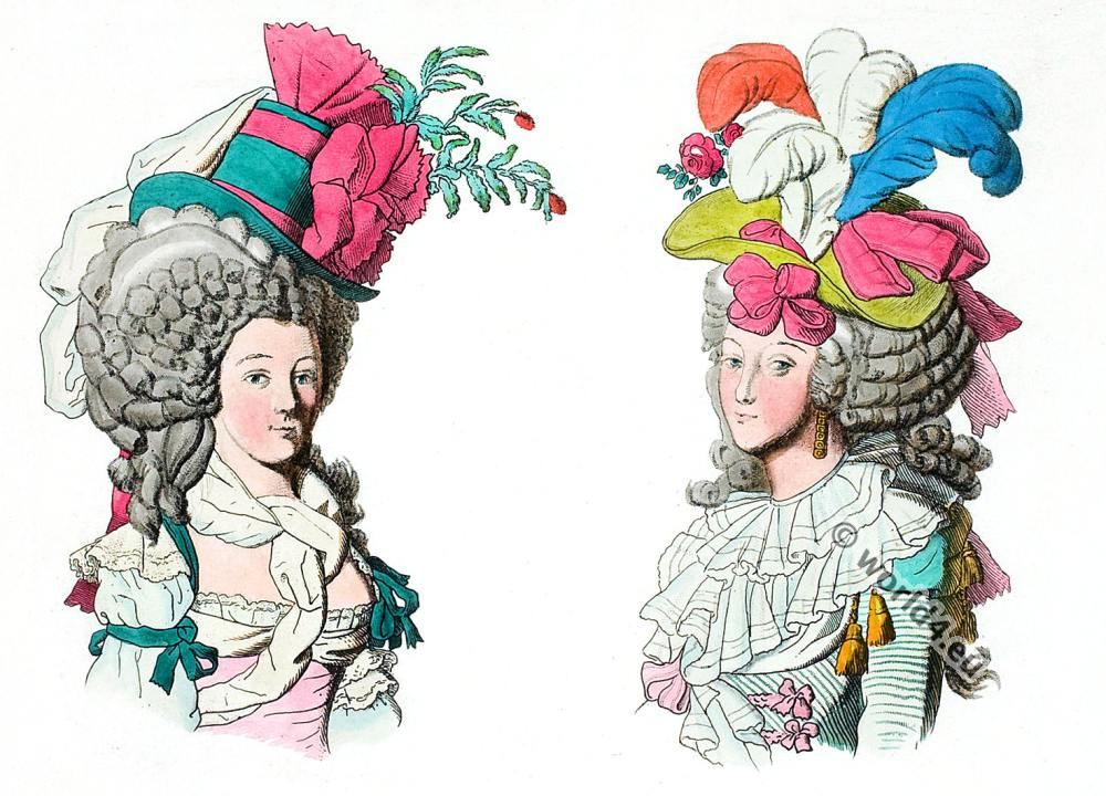 The Rococo – Fashion, Cosmetics, Hairstyles from Versailles