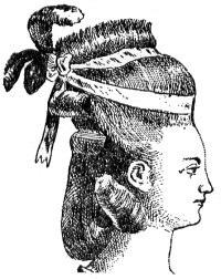 Hedgehog. 18th century hair, 18th century hairstyle, a la herrison. hairdress