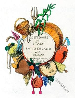 Sketches Illustrative of the Manners and Costumes of France, Switzerland and Italy.