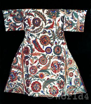 Kaftan ottoman empire. Traditional Turkish mens dress