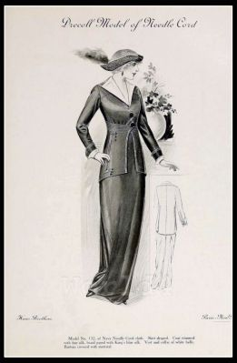 France Fin de siècle fashion. French haute couture gown. Belle Epoque costume by Couturier Christoff von Drécoll