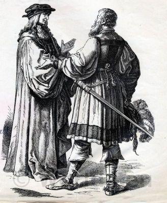 Renaissance camisole. German Romanticism fashion. Men's Middle Ages Dresses. German Medieval Fashion. Renaissance clothing of german knight.